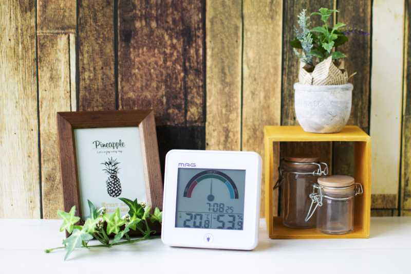 MAGの温湿度計