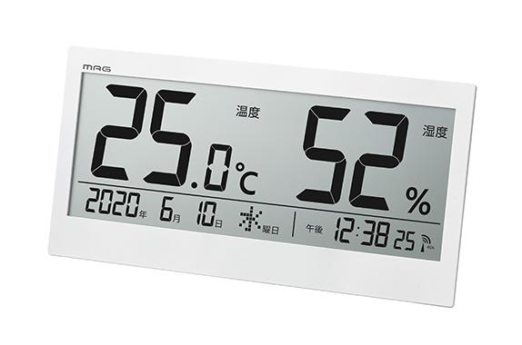 デジタル温度湿度計 ビッグメーター