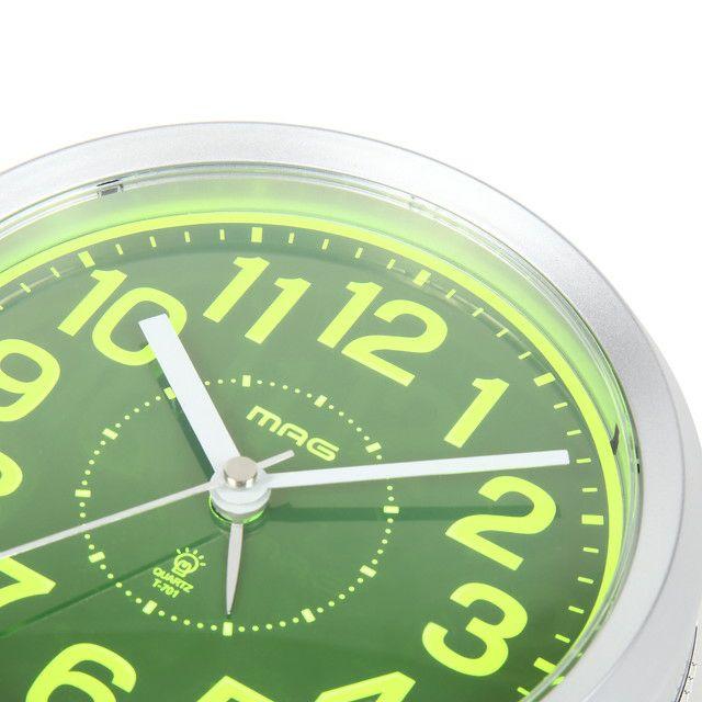 インテリア置時計[T-701 SM-Z_MAGアラーム切替式目覚まし時計 スイッチ―ズNEO]
