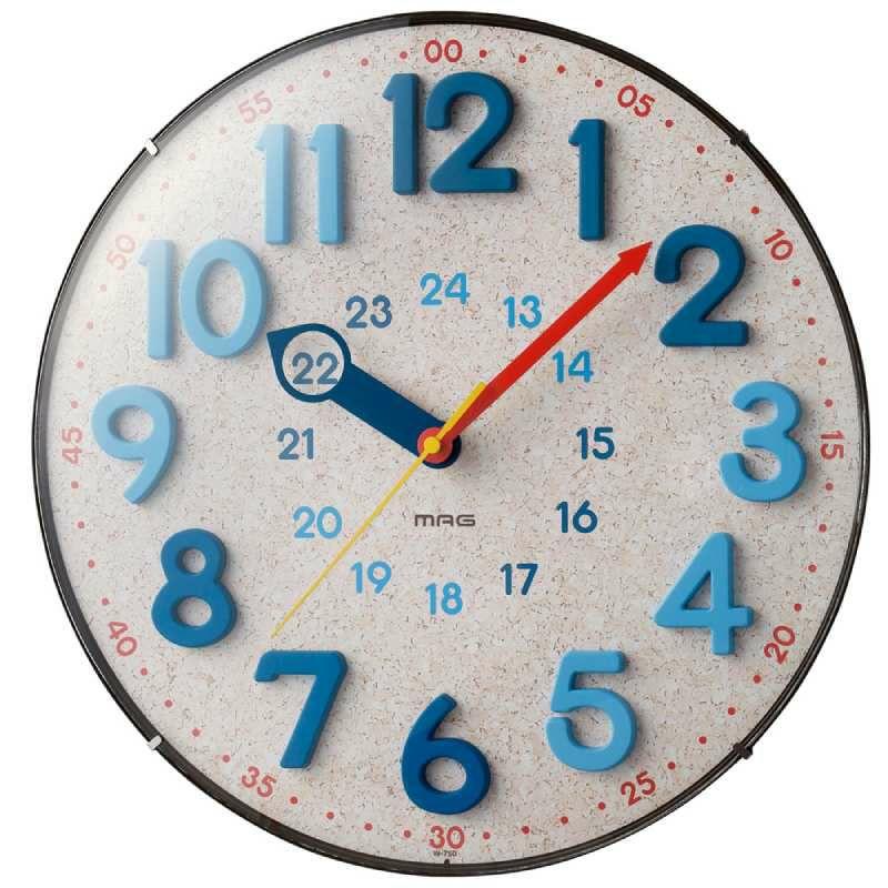 MAG(マグ) 電波壁掛け時計 W-750