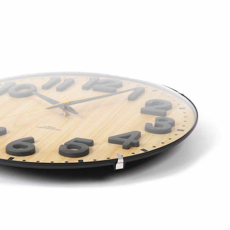 MAG(マグ) アナログ 電波 ウォールクロック 壁 掛時計 W-720  30.5cm リビング お祝い おしゃれ 贈り物 ギフト プレゼント 1台