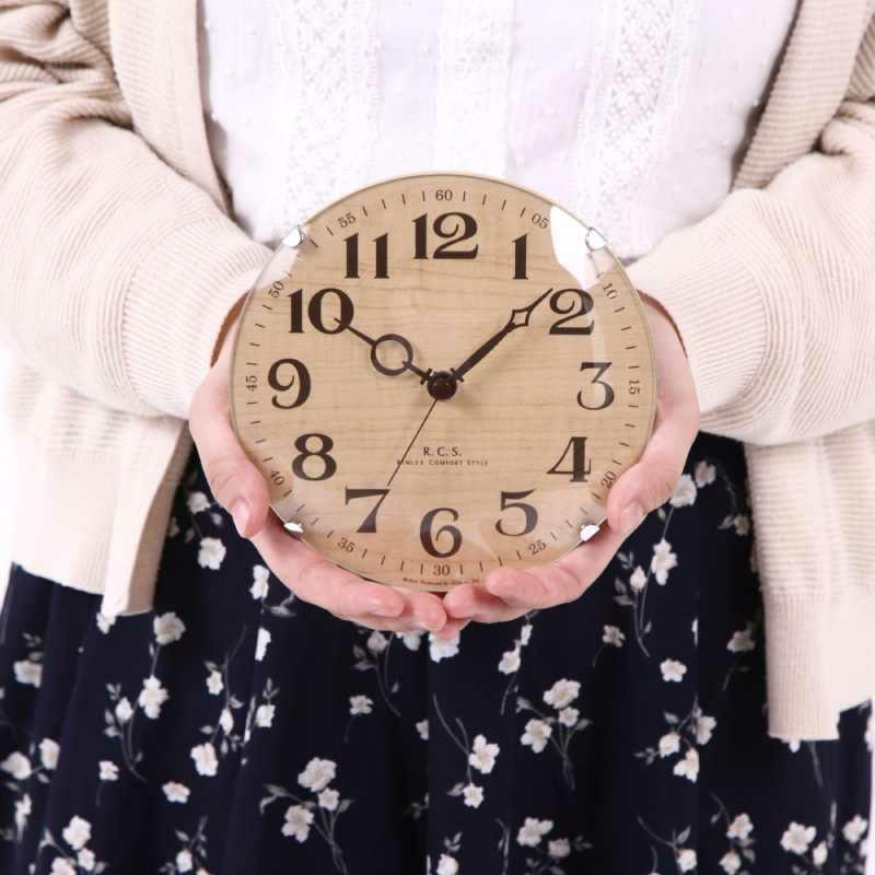 MAG(マグ) アナログ 壁 掛時計 置時計 置掛兼用 連続秒針 パドメラミニオールド 16cm W-614 1台  リビング 玄関 一人暮らし おすすめ 1台