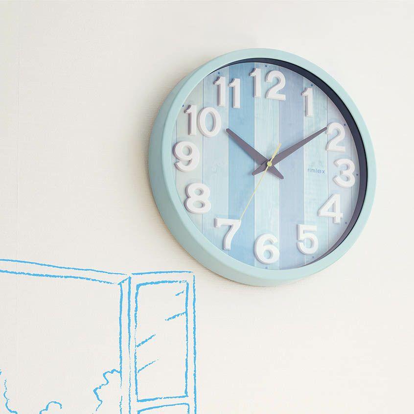 MAG(マグ) 電波壁掛け時計ナタリー W-658