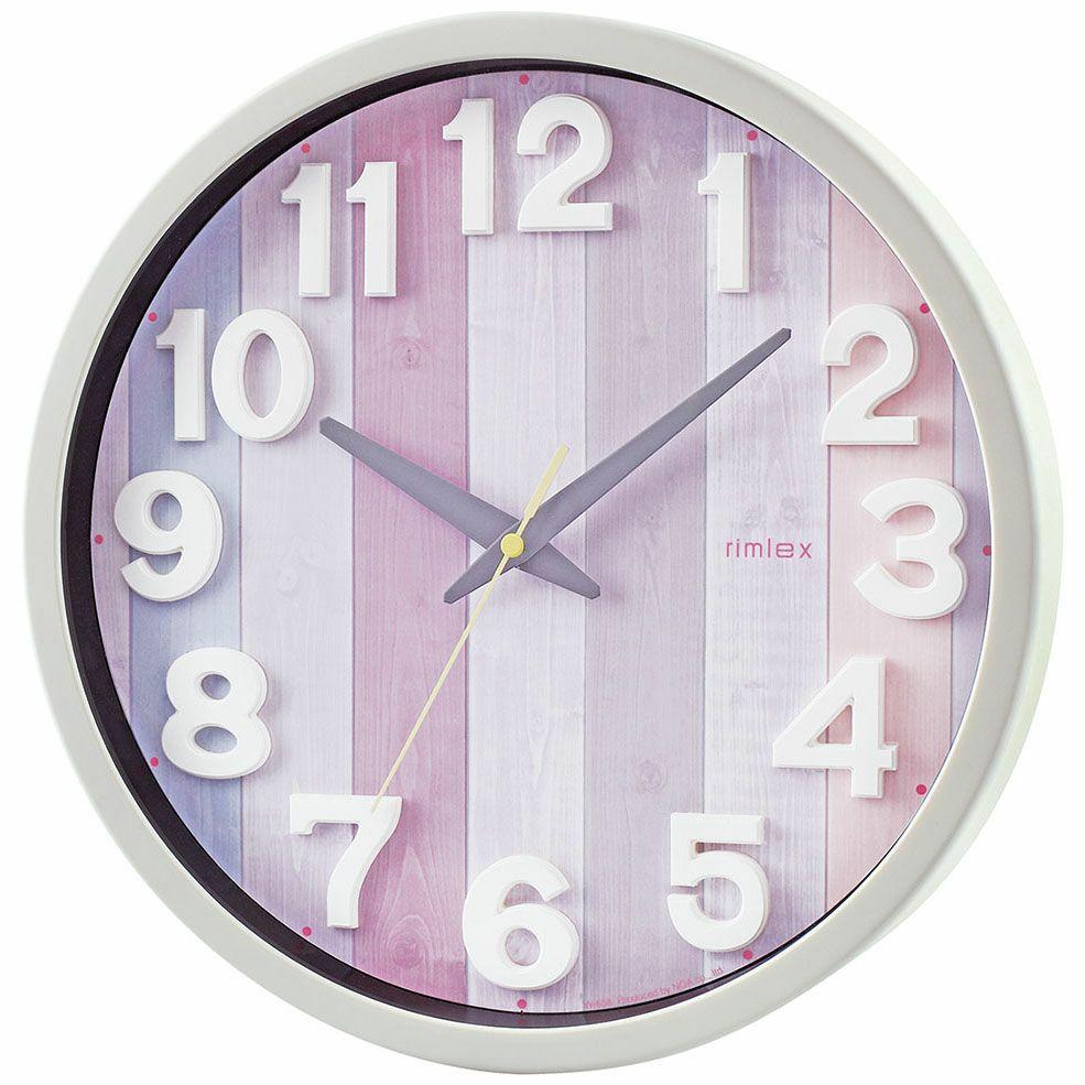 MAG(マグ) アナログ 壁 掛時計 電波 ウォールクロック ナタリー W-658 31.2cm リビング 西海岸 お祝い かわいい おしゃれ 贈り物 ギフト プレゼント 1台