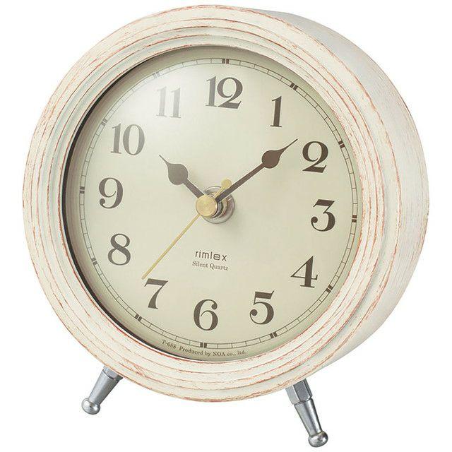 インテリア置時計[T-688_MAGテーブルクロック エアリアルレトロミニ]