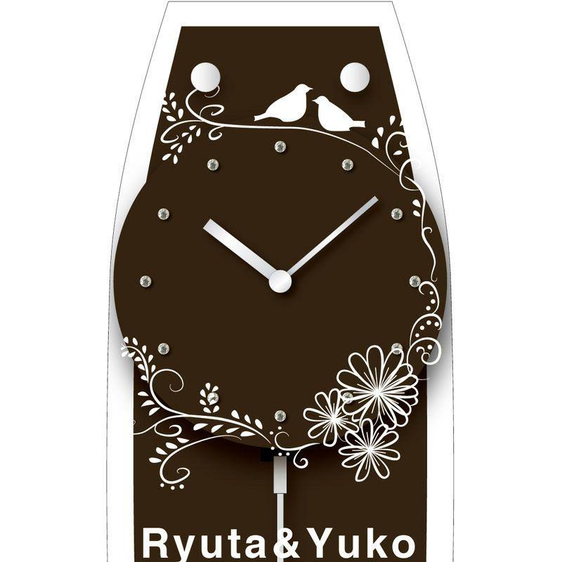 名入れ時計[W-747-CO BR-Z_B_]結婚祝いなどおしゃれな贈り物・ギフト・記念品に
