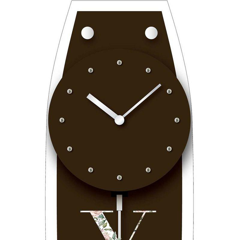 名入れ時計[W-747-CO BR-Z_D_]結婚祝いなどおしゃれな贈り物・ギフト・記念品に