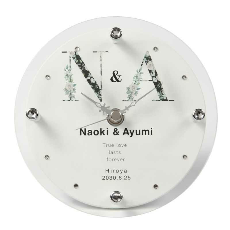 MAG(マグ) 名入れ時計「イニシャル」 T-753-CO WH-Z_104