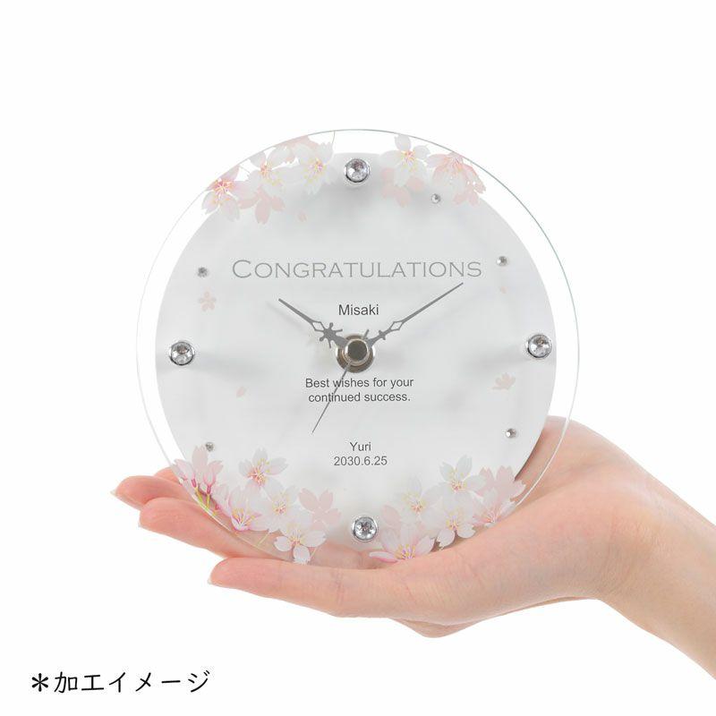 名入れ時計[T-753-CO WH-Z_イニシャル]結婚祝いなどおしゃれな贈り物・ギフト・記念品に