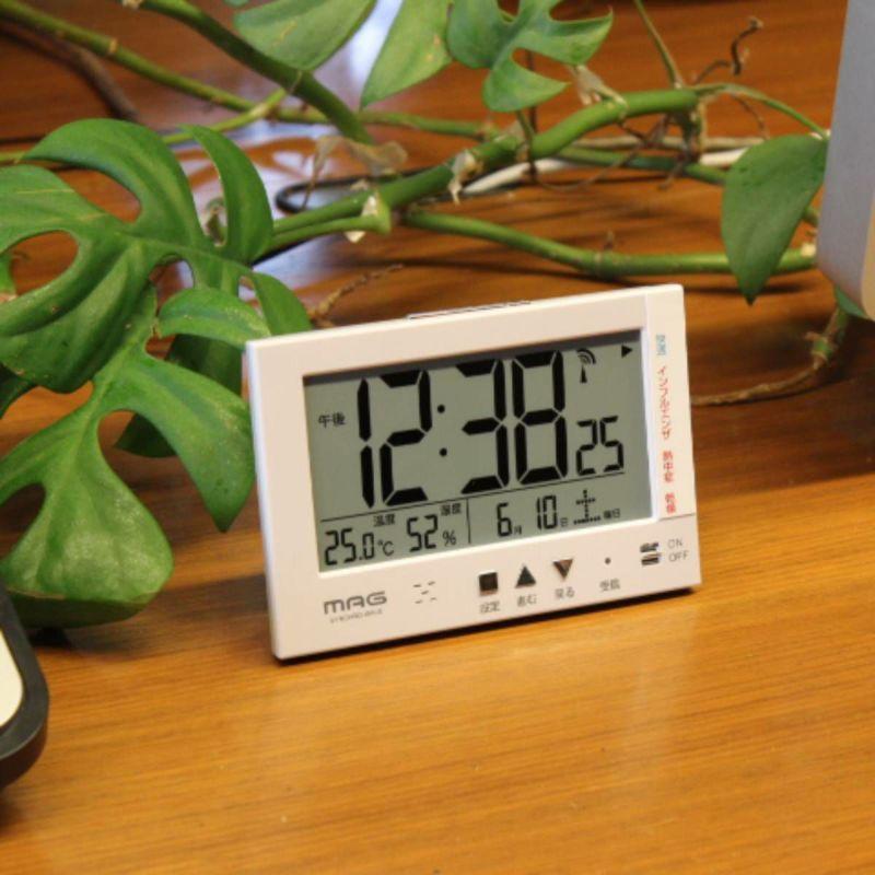 環境目安表示機能付き電波時計 エアサーチミチビキ
