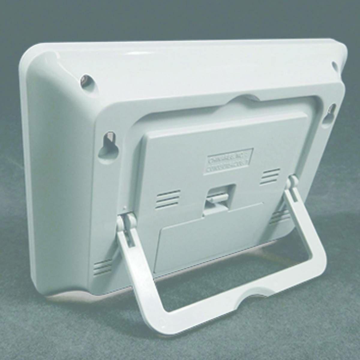 MAG(マグ) デジタル 電波 置時計 目覚まし時計 温度 湿度 カレンダー ケプラーT-693 ホワイト 1台