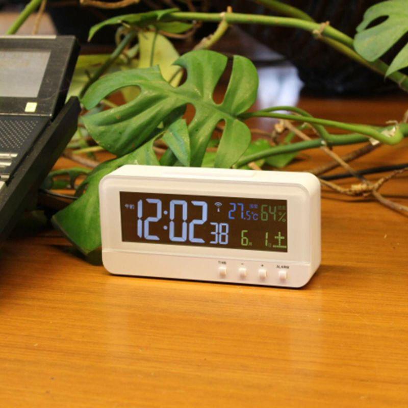 電波時計 カラーハープ