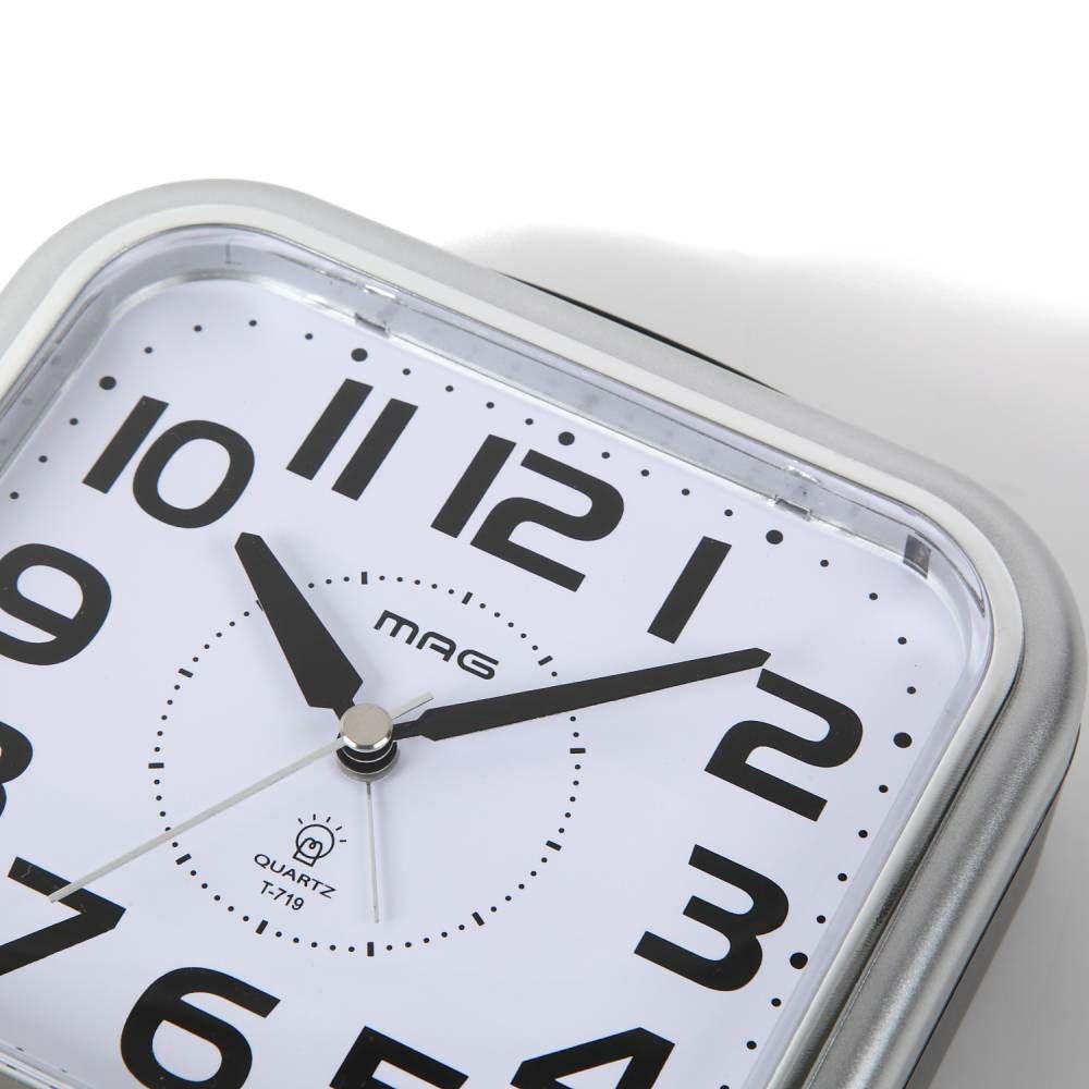 インテリア置時計[T-719 SM-Z_目覚まし時計 アップタイム]