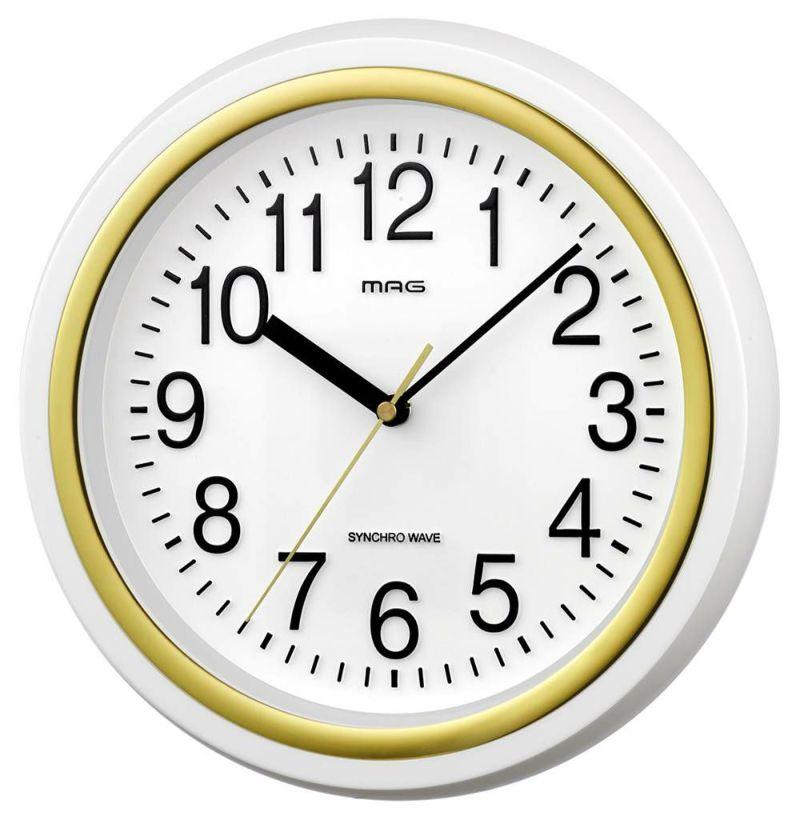 MAG電波掛時計 テンマ