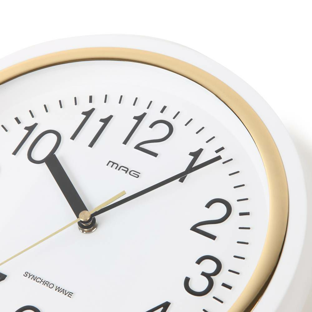 MAG(マグ) 電波壁掛け時計 テンマ W-754