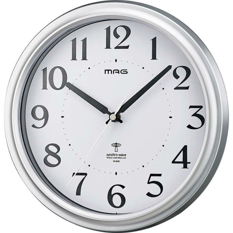 MAG電波掛時計 アストル