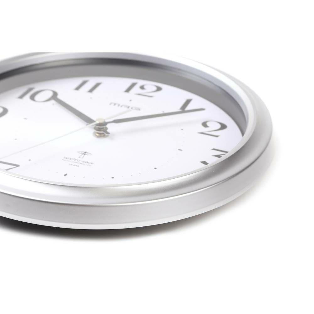 インテリア時計[W-649 SM-Z_MAG電波掛時計 アストル]