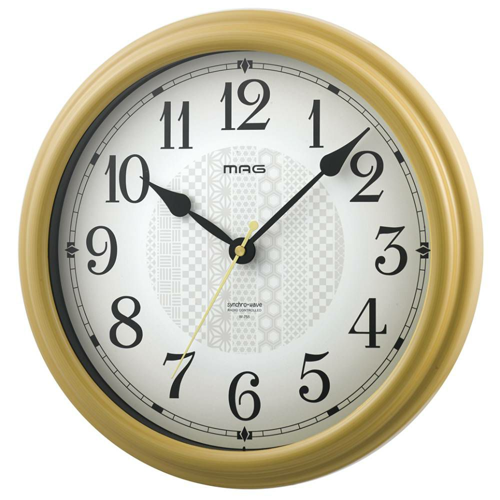 MAG(マグ) 電波壁掛け時計 いろは W-755