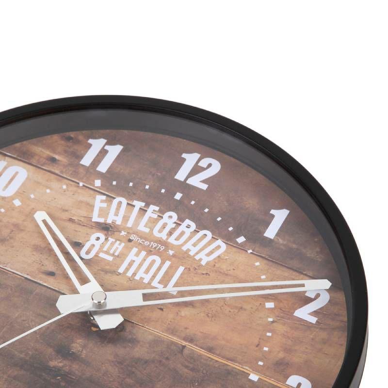 ≪メーカー直販≫ MAG(マグ) ウォールクロック アナログ 壁掛け時計  W-748 25cm 1台 連続秒針 おしゃれ ブルックリン風  男前 インテリア 1人暮らし リビング 寝室
