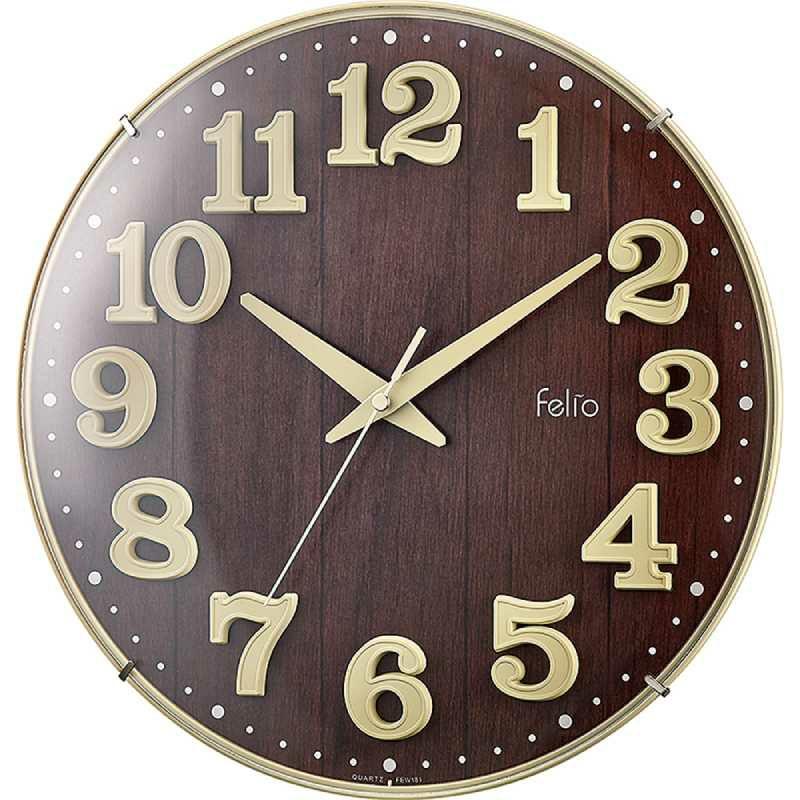 MAG(マグ) 壁掛け時計 ブリュレ アイボリー FEW181