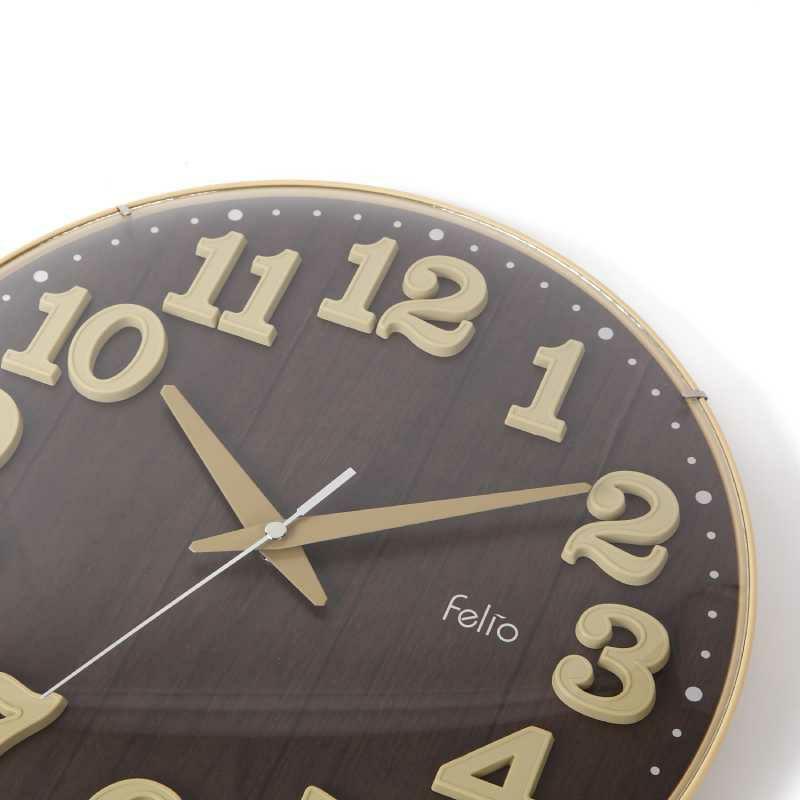 インテリア時計[FEW181_掛時計 ブリュレ]リビング・子供部屋におすすめ