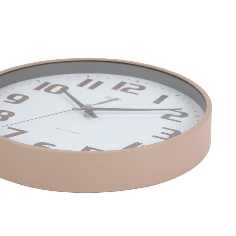 MAG(マグ) アナログ 壁 掛時計 チュロス FEW181 22cm 1台 連続秒針 おしゃれ かわいい インテリア リビング キッズ 子供部屋 おすすめ