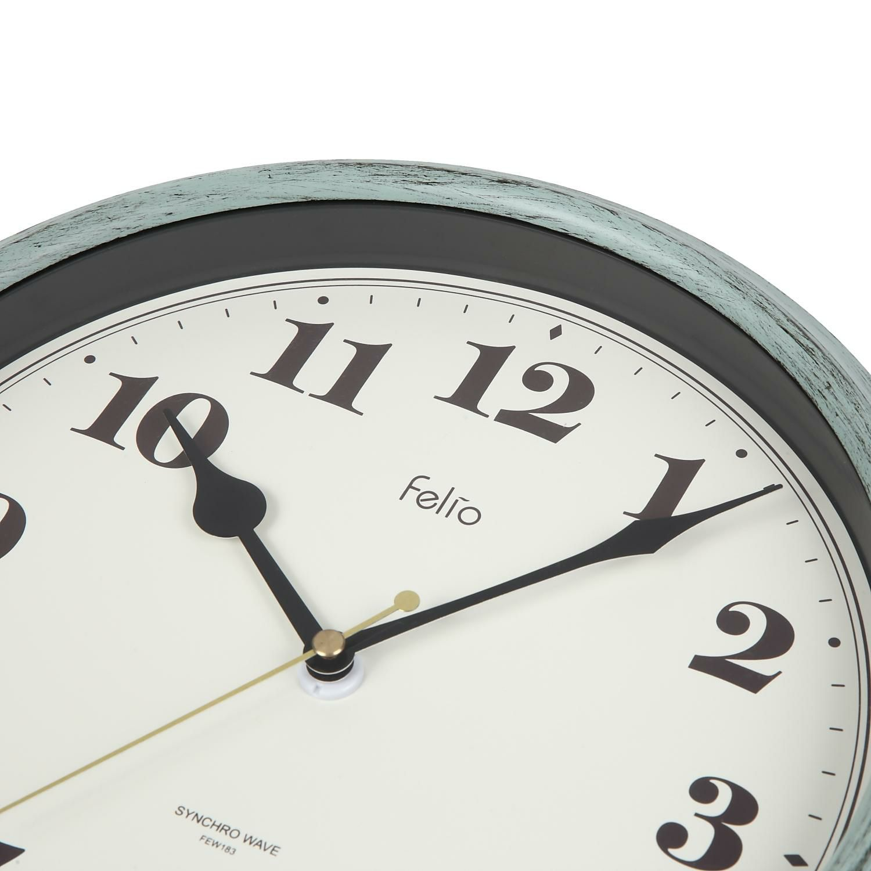 MAG(マグ) 電波壁掛け時計 パンナ FEW183 GR