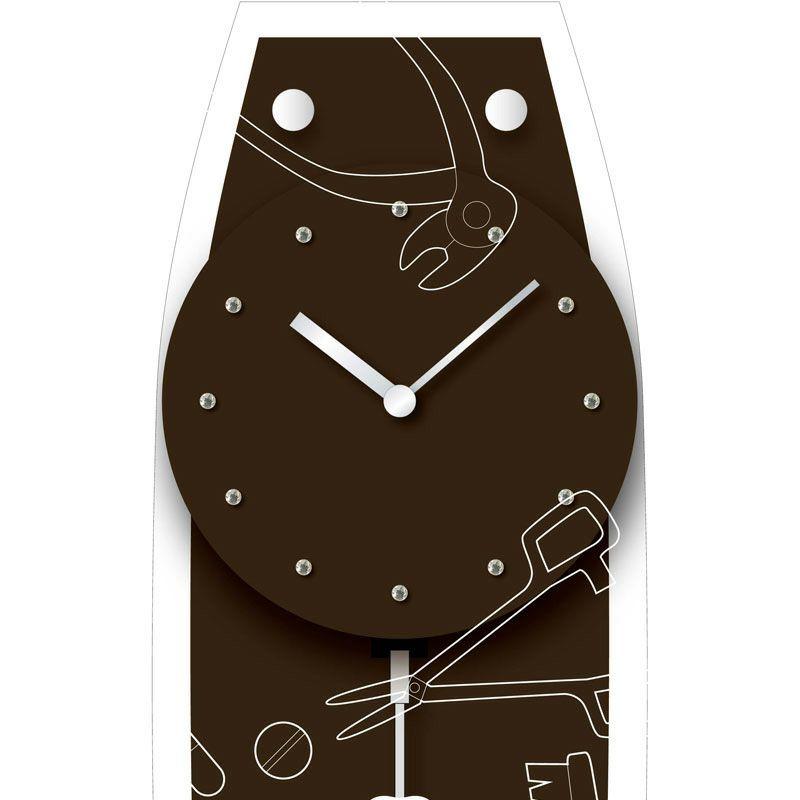 MAG(マグ) 名入れ壁掛け時計「歯医者」 W-747-CO BR-Z_111